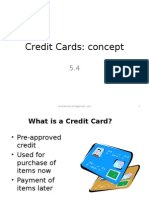 5.4.Credit Cards Concept
