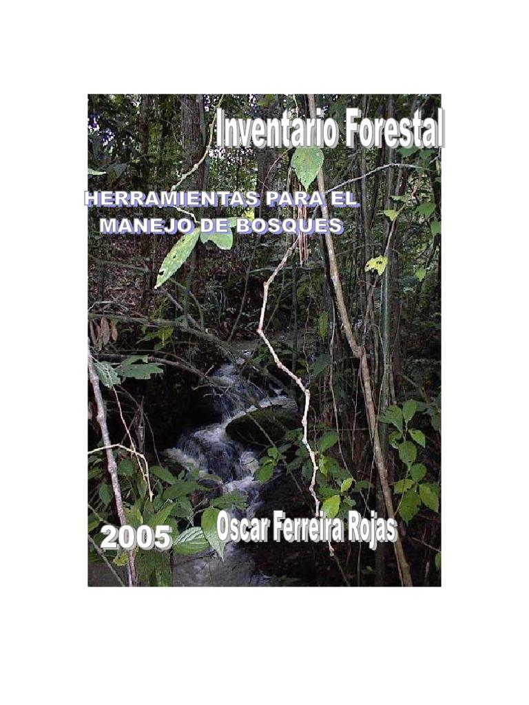 Manual de invent a rio forestal pdf for Manejo de viveros forestales