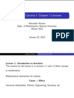 MTH 140 - Chapter 1 Lectures