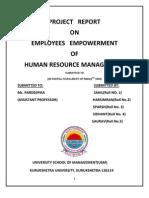 Employee Empowerment Pdf