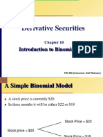 Chap 10 Slides Introduction to Binomial Trees Updated2