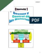Capitulo 1 Gestion de Cadena de Materiales - Comceptos Basicos Sobre Procesos