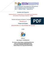 INVESTIGACION  DINAMICOS E -Instituto Tecnológico Gamma – Belize