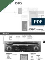 Manuale d'Uso Grundig Ec 4290 CD i