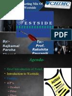 Presentation on 4Ps of Westside