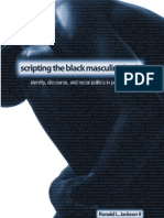 Scripting the Black Masculine Body Identity Discourse and Racial Politics in Popular Media Suny Series the Negotiation of Identity
