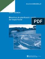 Directrius Planificacio Gestio Espai Fluvial