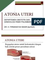 Atonia Uteri FB
