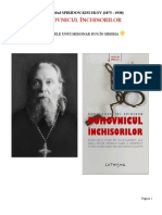 Duhovnicul inchisorilor - Arhimandritul SPIRIDON KISLYKOV (1875 - 1930)