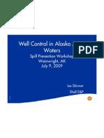 Well Control in Alaska Artic Waters