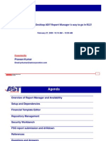 Oracle Report Manager -R12