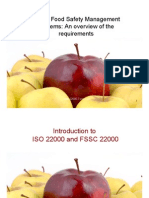 Introduction to ISO-22000 and FSSC-22000
