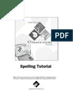 Spelling Tutorial