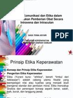 PP konsep komunikasi dan etika dalam pemberian obat