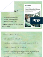 Caso Clinico Complicacion 18 Abril Area Sanitaria este de Málaga-Axarquía-Hospital Comarcal Axarquía