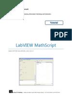 LabVIEW Math Script Tutorial
