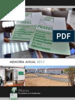 Memoria Fundación Pharos 2011