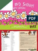 LazyOne.ca Pajama and Slipper Catalog 2012