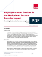 Ovum. Employee-owned Devices in the Workplace