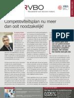 Competitiviteitsplan nu meer dan ooit noodzakelijk!, Infor VBO 13, 19 april 2012