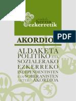 Euskal Herria ezkerretik/O povo basco pola esquerda