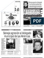 Versión impresa del periódico El mexiquense Edición 18 de abril 2012