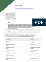 System Error Codes (MSDN)