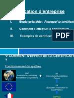 certif entreprise