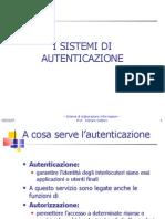 Cap 4 Sistemi Di Autenticazione