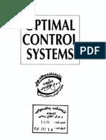 Optimal Control Systems - By Desineni Subbaram Naidu