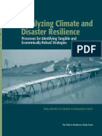 Catalyzing Climate and Disaster Resilience