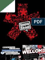 Snowskool Ski Instructor Brochure