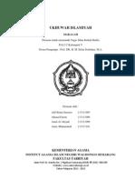 Makalah Ukhuwah Islamiyah PAI 2C IAIN Walisongo