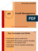 #9 Credit Management