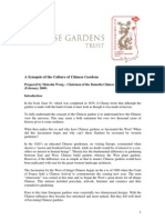 A Synopsis of the Culture of Chinese Gardens.