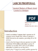 Research Proposal on Airtel