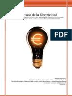 El mercado de la electricidad en España.