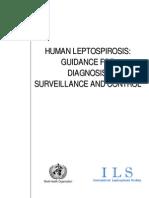 Who Cds Csr Eph 2002.23 Leptospirosia
