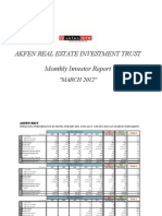 AKFEN GYO Monthly Report - March 2012