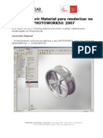 Como Inserir Material Para Renderizar No Photo Works 2007