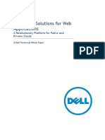 Dell Cloud Solution for Web Applications Revolutionary Cloud Platform