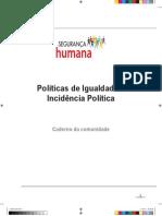 Políticas de Igualdade e Incidência Política - SH