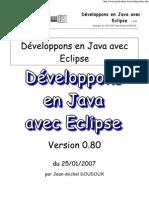 Développons en Java avec Eclipse