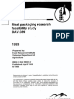 Dav 089 Meat Packaging Research Feasibility Study[1]