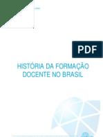artigo - historia da formaçao docente no brasil