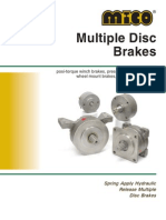 Multiple Disc Brakes