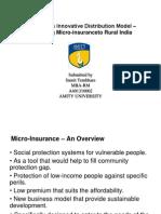 TATA-AIG's– Micro-insuranceto Rural