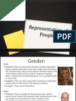 Representation of People