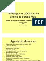 Minicurso Joomla