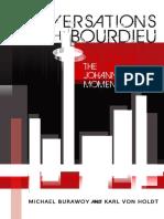 Conversations with Bourdieu - The Johannesburg Moment